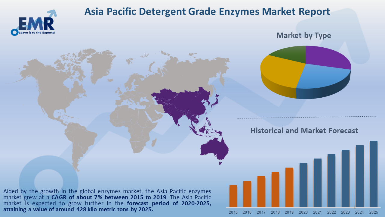 Asia Pacific Detergent Grade Enzymes Market Report and Forecast 2020-2025