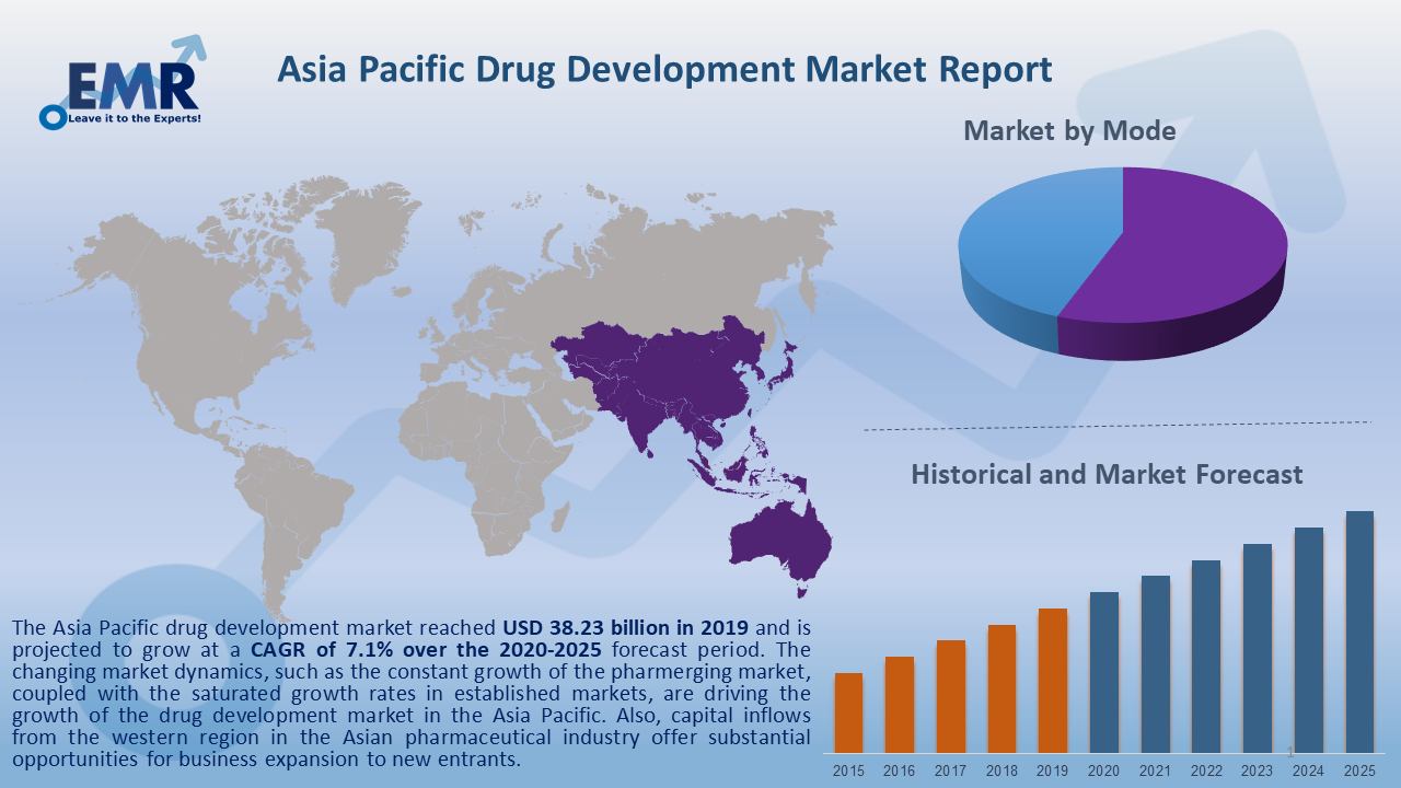 Asia Pacific Drug Development Market Report and Forecast 2020-2025