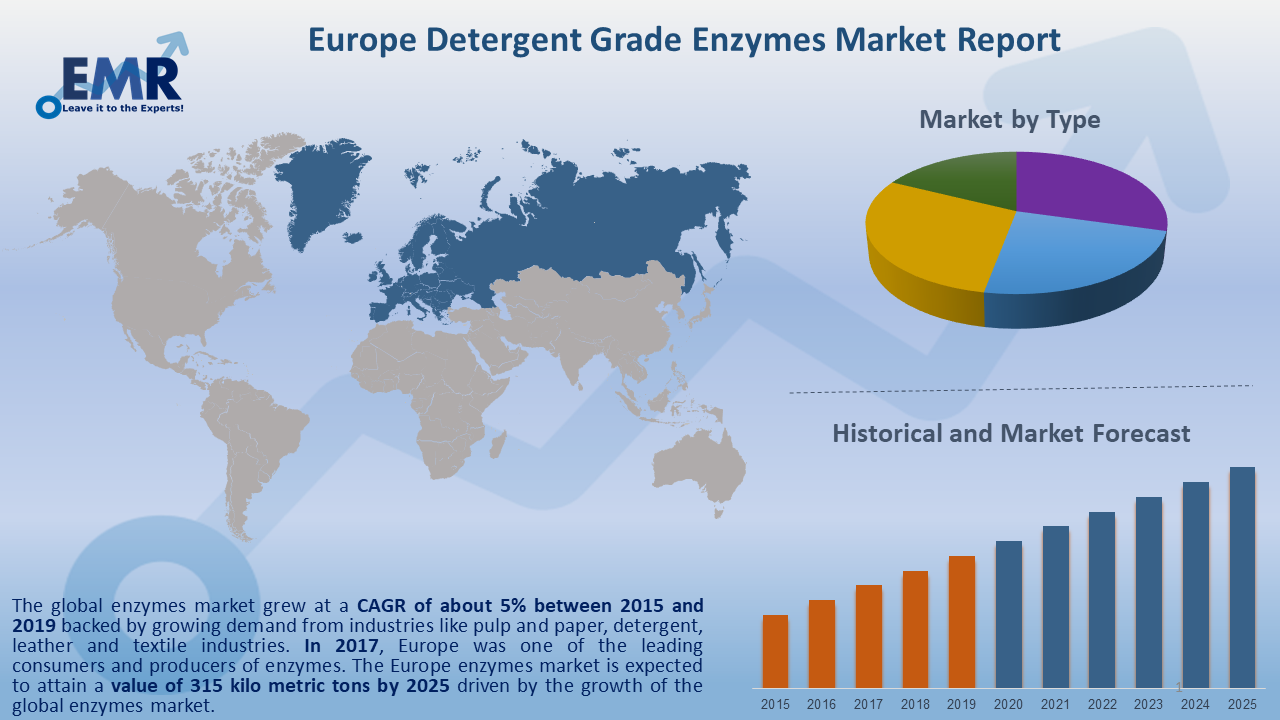 Europe Detergent Grade Enzymes Market Report and Forecast 2020-2025