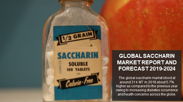 Global Saccharin Market Report and Forecast 2019-2024