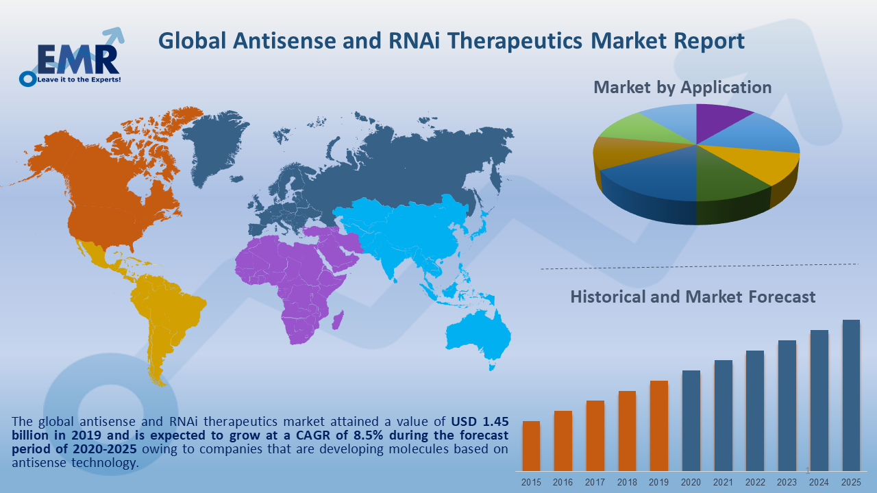 Global Antisense and RNAi Therapeutics Market Report and Forecast 2020-2025
