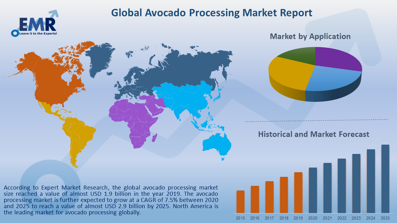 Global Avocado Processing Market Report and Forecast 2020-2025
