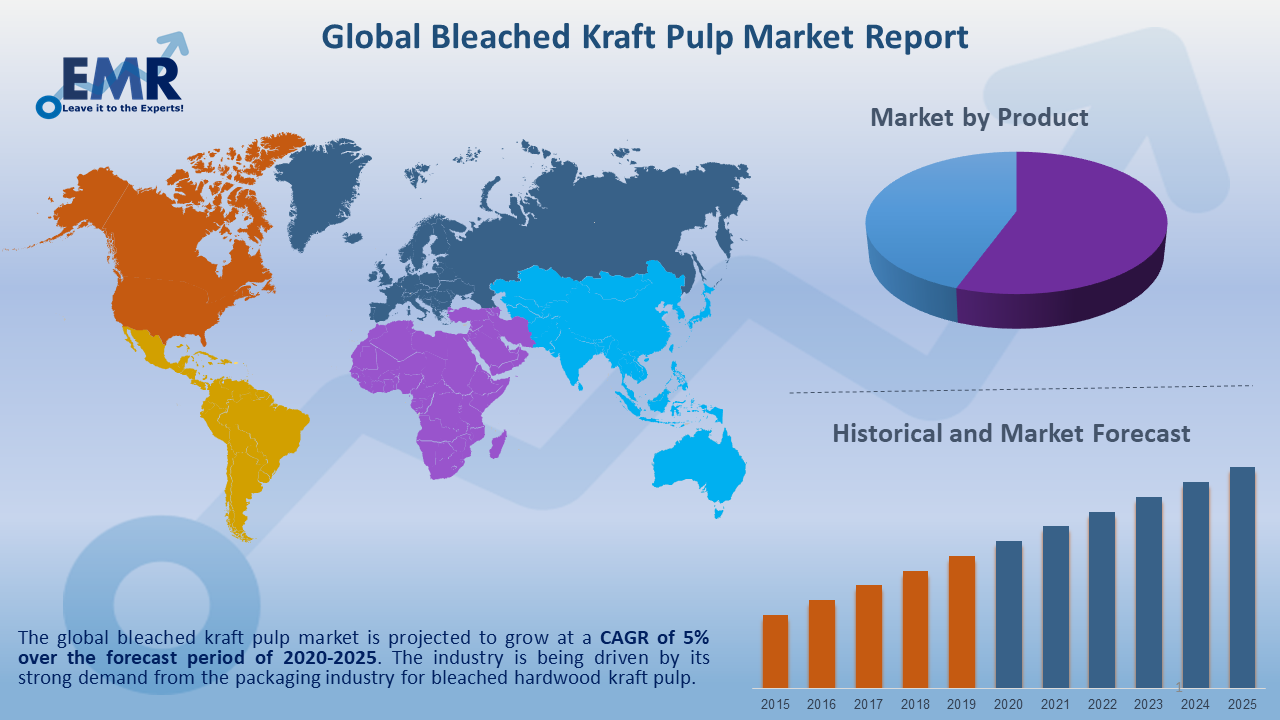 Global Bleached Kraft Pulp Market Report and Forecast 2020-2025