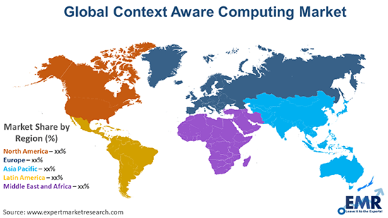 Global Context Aware Computing Market By Region