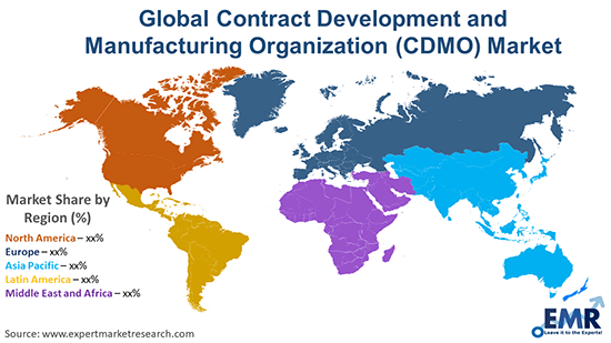 Global Contract Development and Manufacturing Organization (CDMO) Market By Region