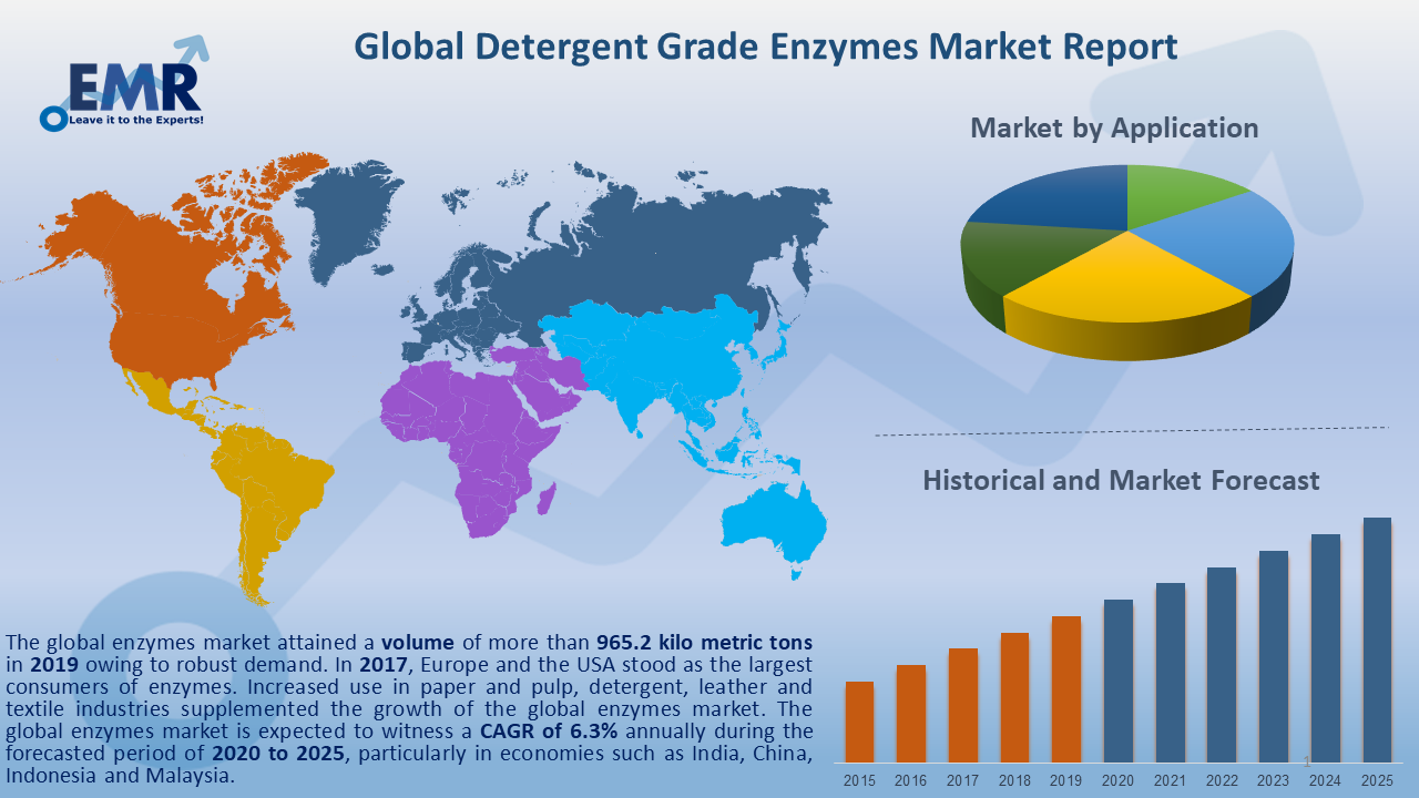 Global Detergent Grade Enzymes Market Report and Forecast 2021-2026