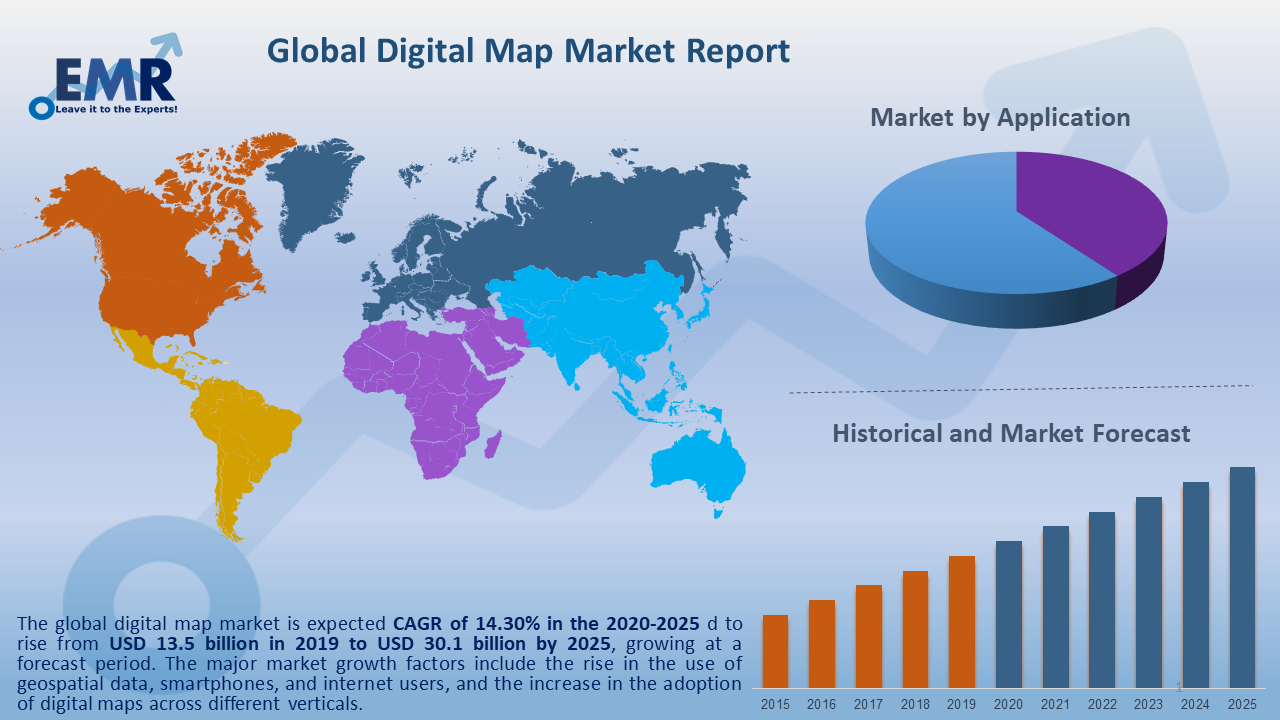 Global Digital Map Market Report and Forecast 2020-2025