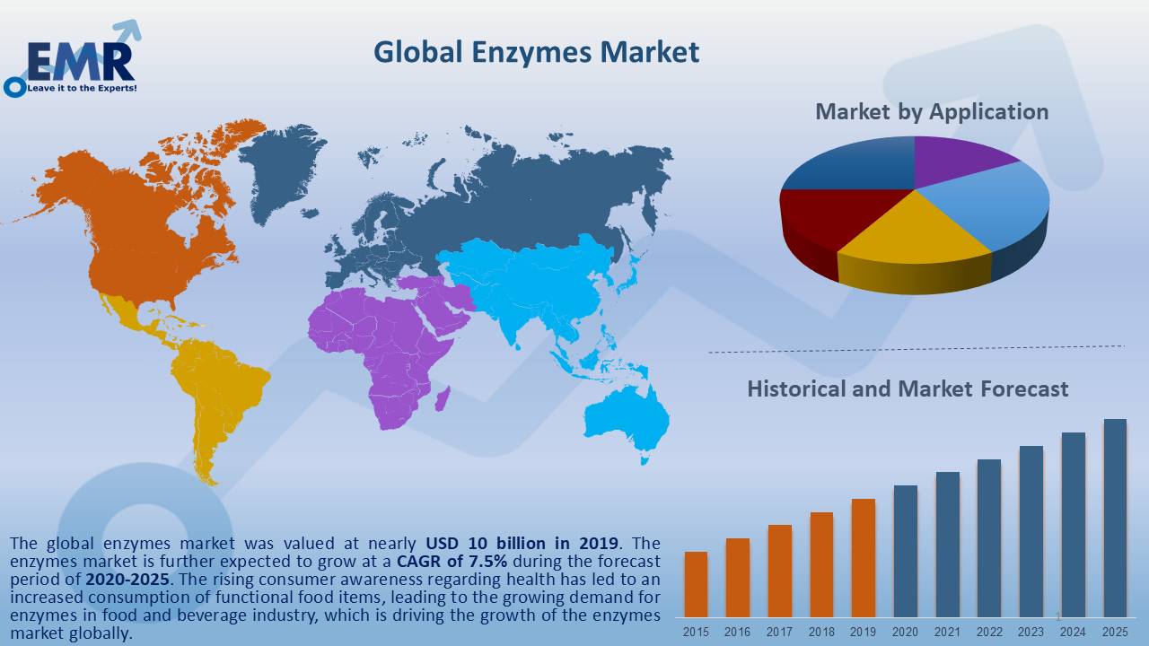Global Enzymes Market Report and Forecast 2020-2025