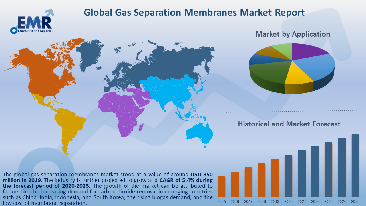 Global Gas Separation Membranes Market Report and Forecast 2020-2025