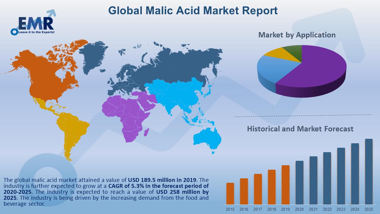 Global Malic Acid Market Report and Forecast 2020-2025