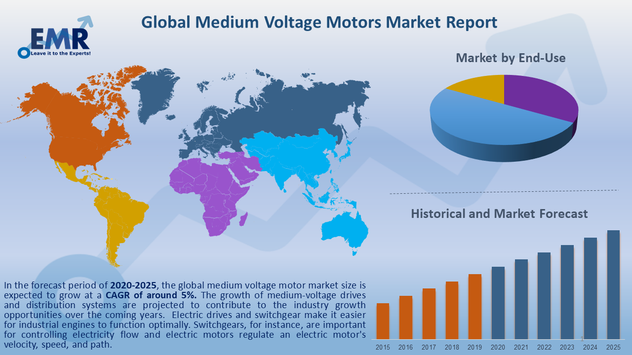Global Medium Voltage Motors Market Report and Forecast 2020-2025