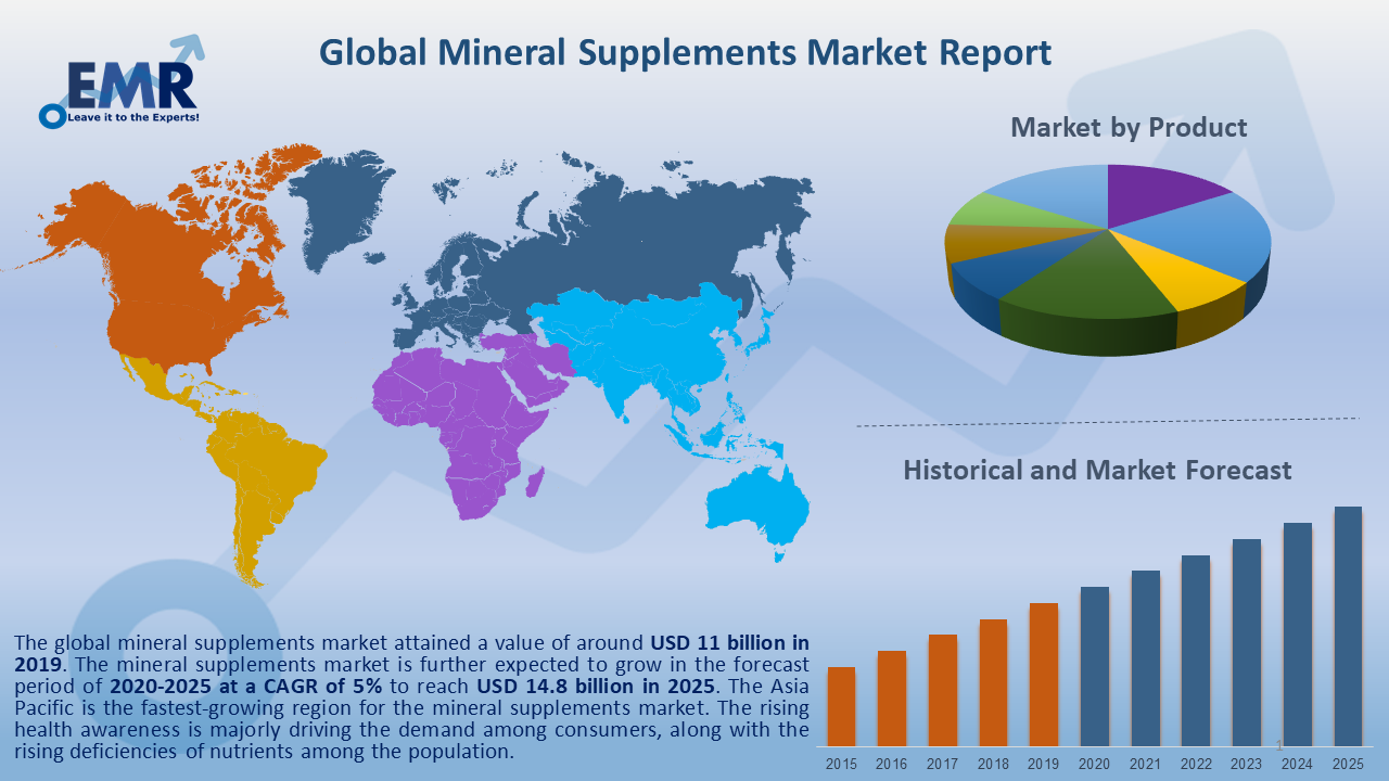 Global Mineral Supplements Market Report and Forecast 2020-2025