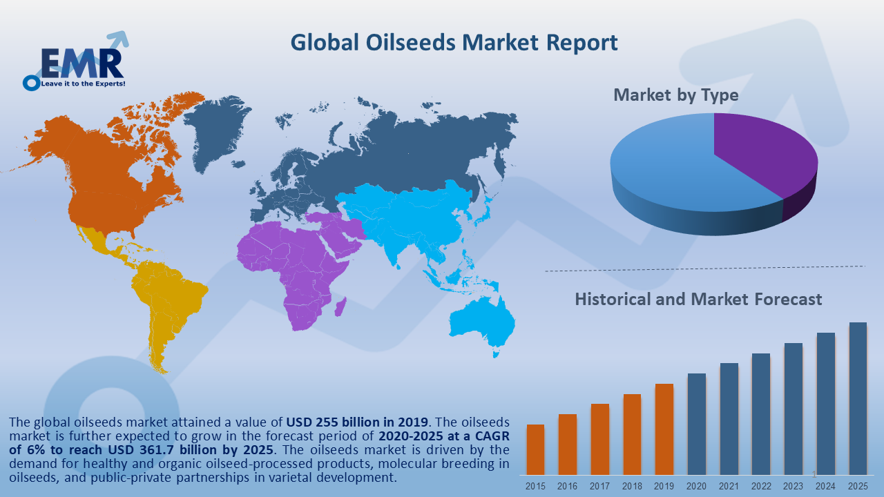 Global Oilseeds Market Report and Forecast 2020-2025