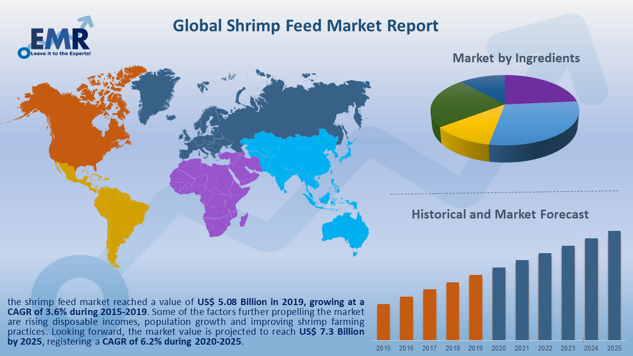 Global Shrimp Feed Market Report and Forecast 2020-2025