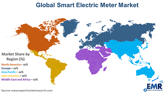 Global Smart Electric Meter Market By Region