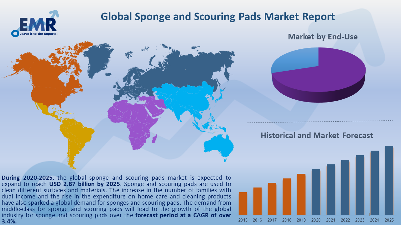 Global Sponge and Scouring Pads Market Report and Forecast 2020-2025