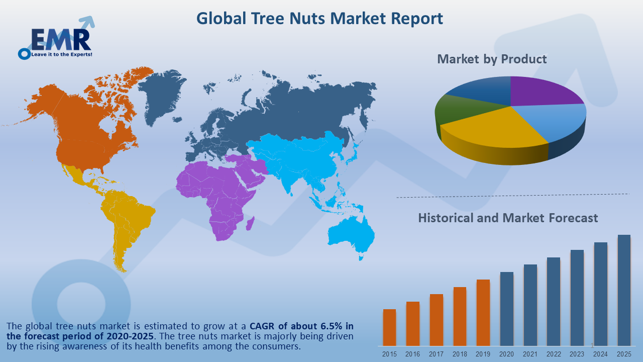 Global Tree Nuts Market Report and Forecast 2020-2025