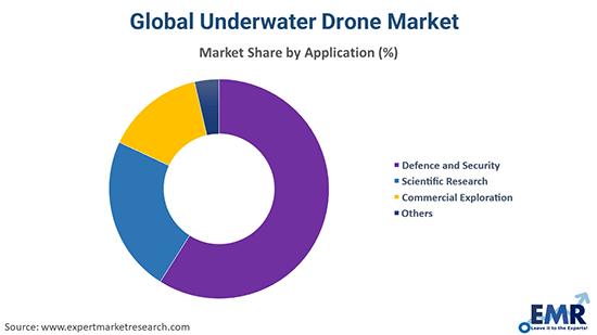 Underwater Drones Market by Application
