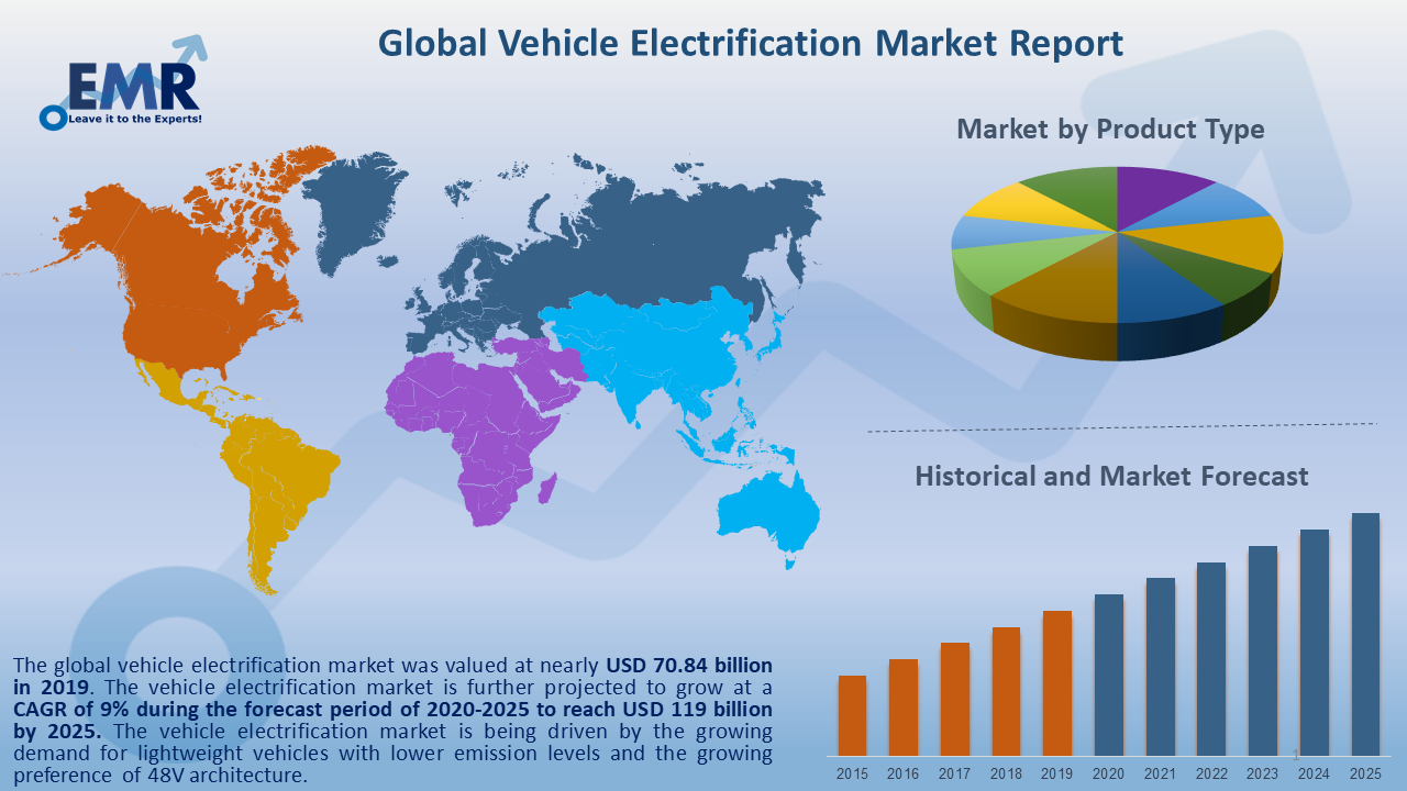 Global Vehicle Electrification Market Report and Forecast 2020-2025