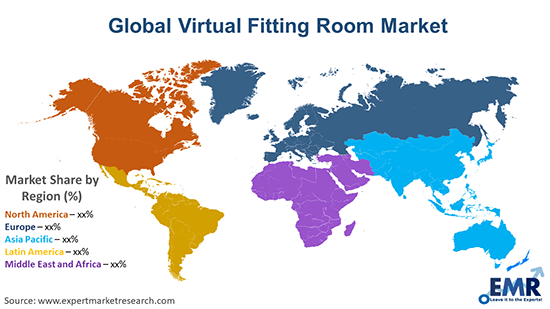 Global Virtual Fitting Room Market By Region