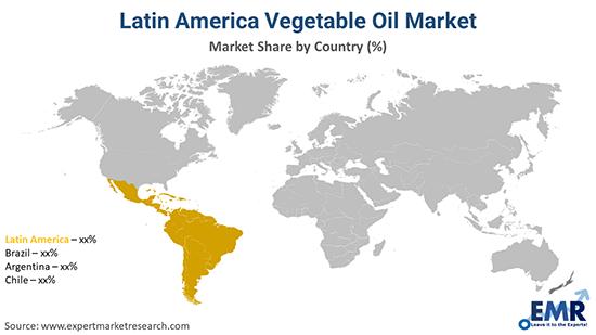 Latin America Vegetable Oil Market By Region