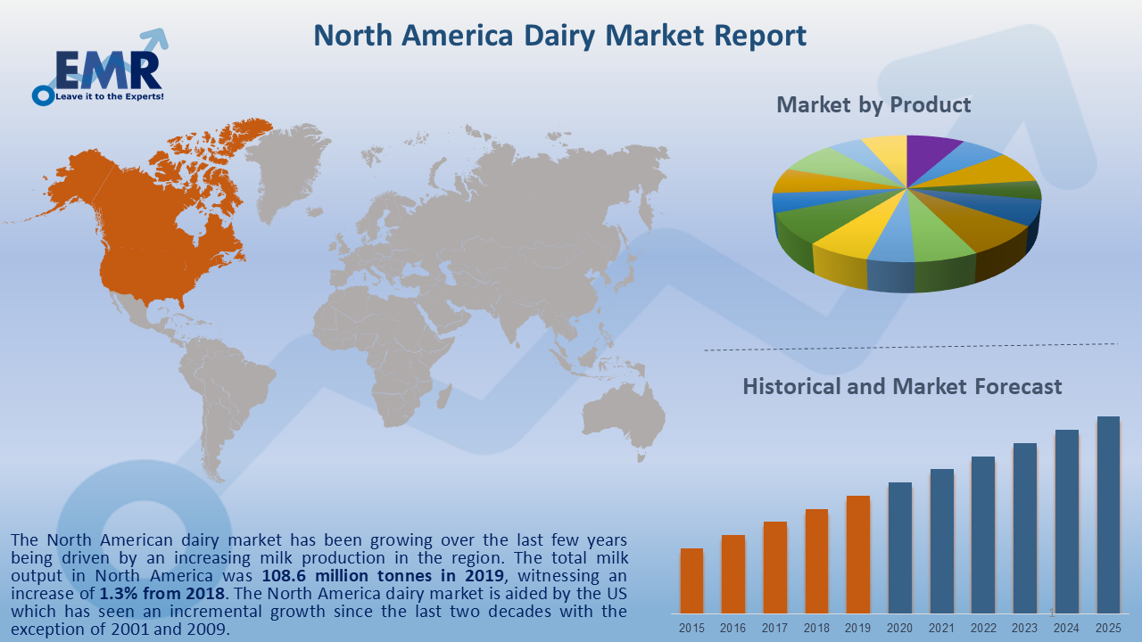 North America Dairy Market Report and Forecast 2020-2025