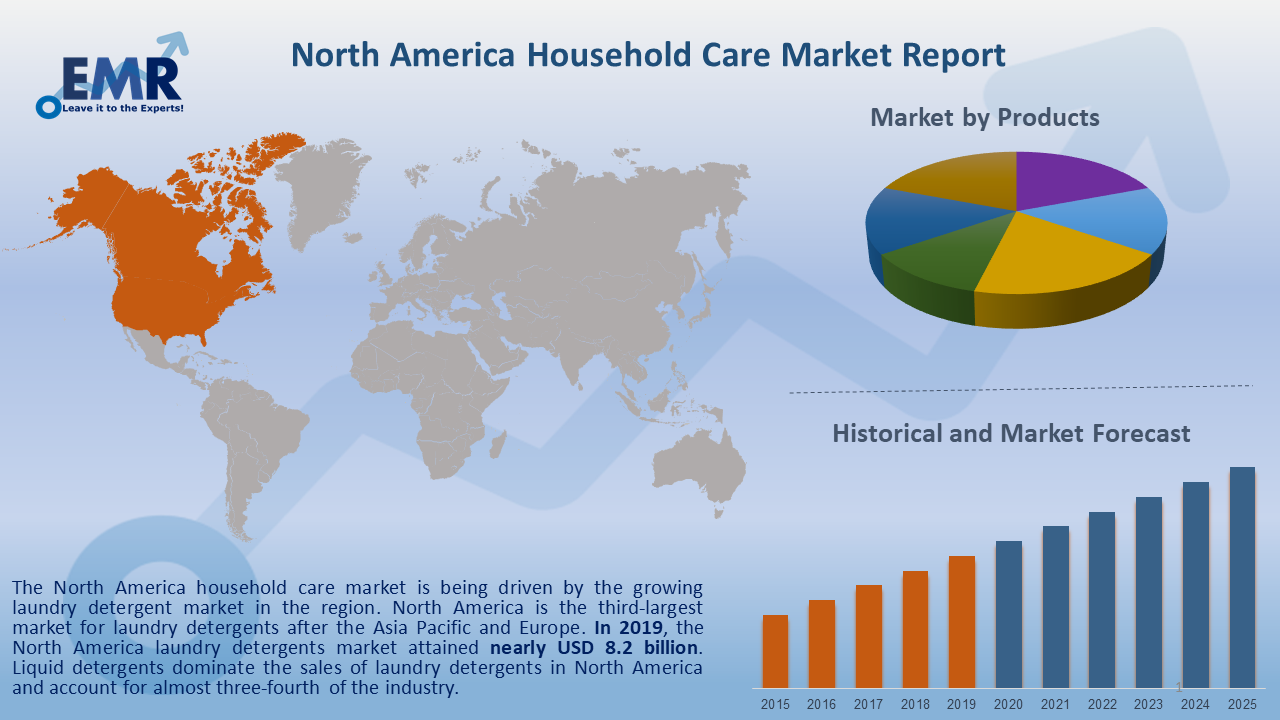 North America Household Care Market Report and Forecast 2020-2025