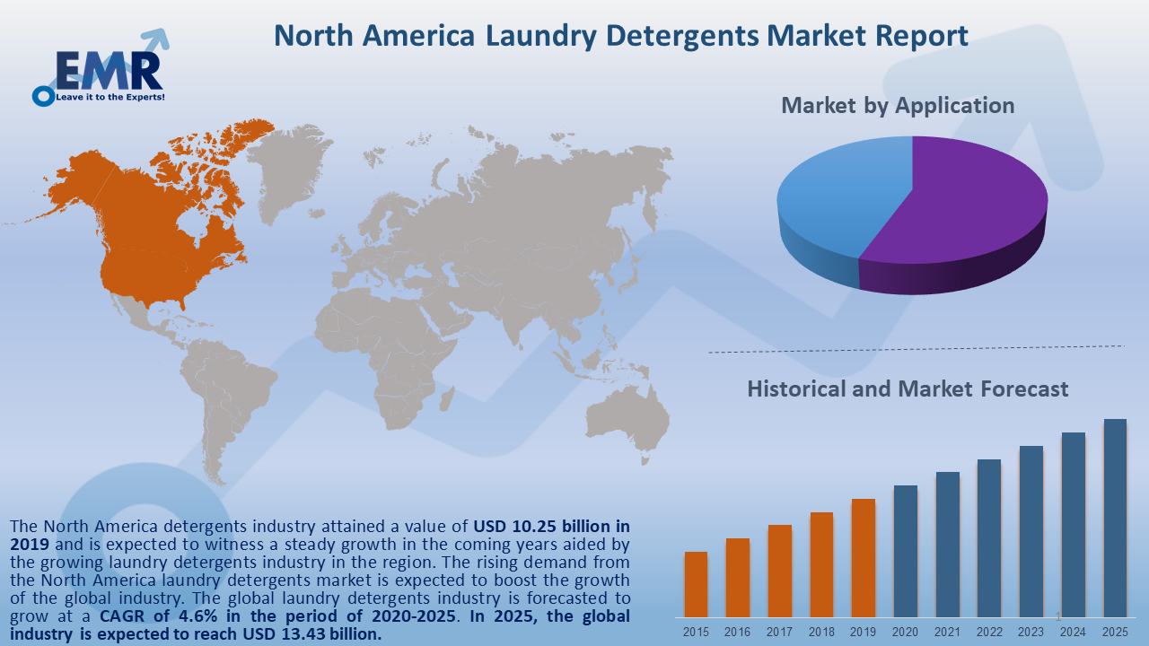 North America Laundry Detergents Market Report and Forecast 2020-2025