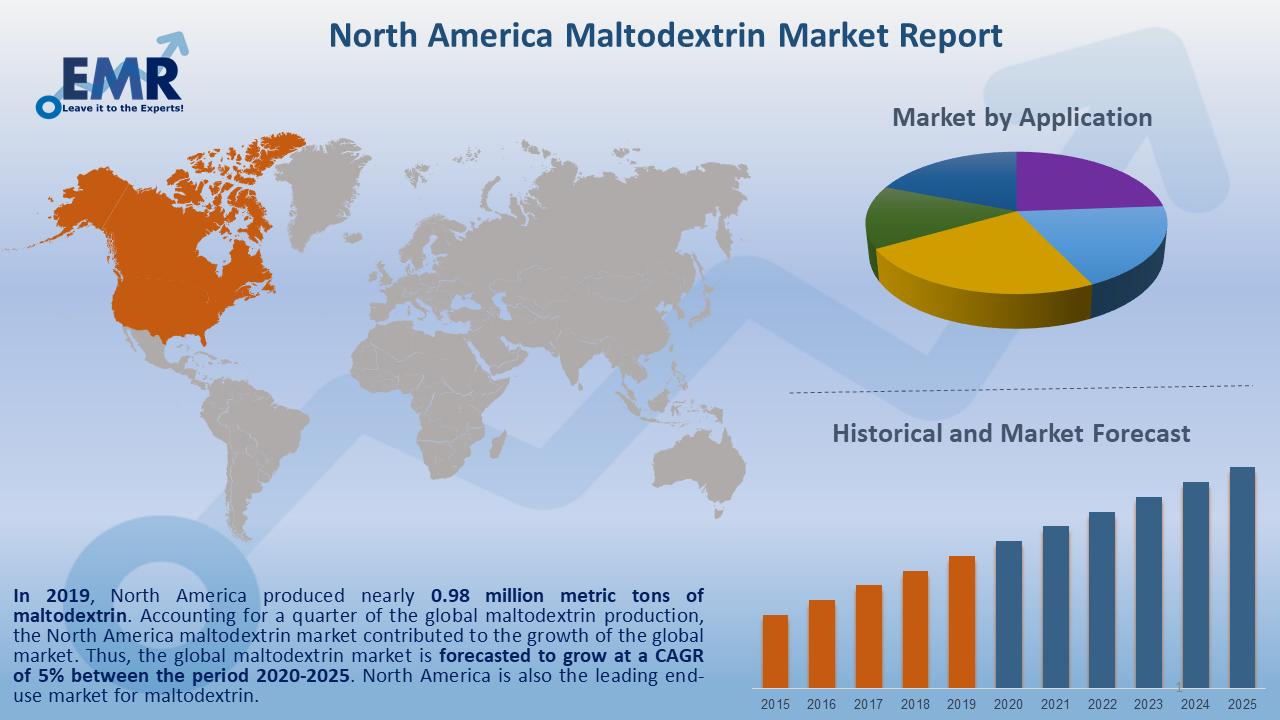 North America Maltodextrin Market Report and Forecast 2020-2025