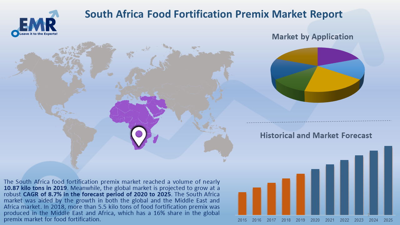 South Africa Food Fortification Premix Market Report and Forecast 2020-2025