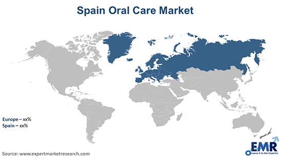 Spain Oral Care Market By region