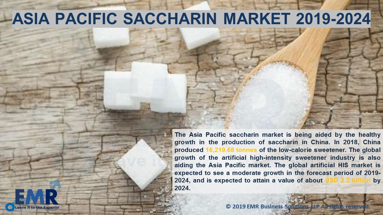 Asia Pacific Saccharin Market Report and Forecast 2019-2024