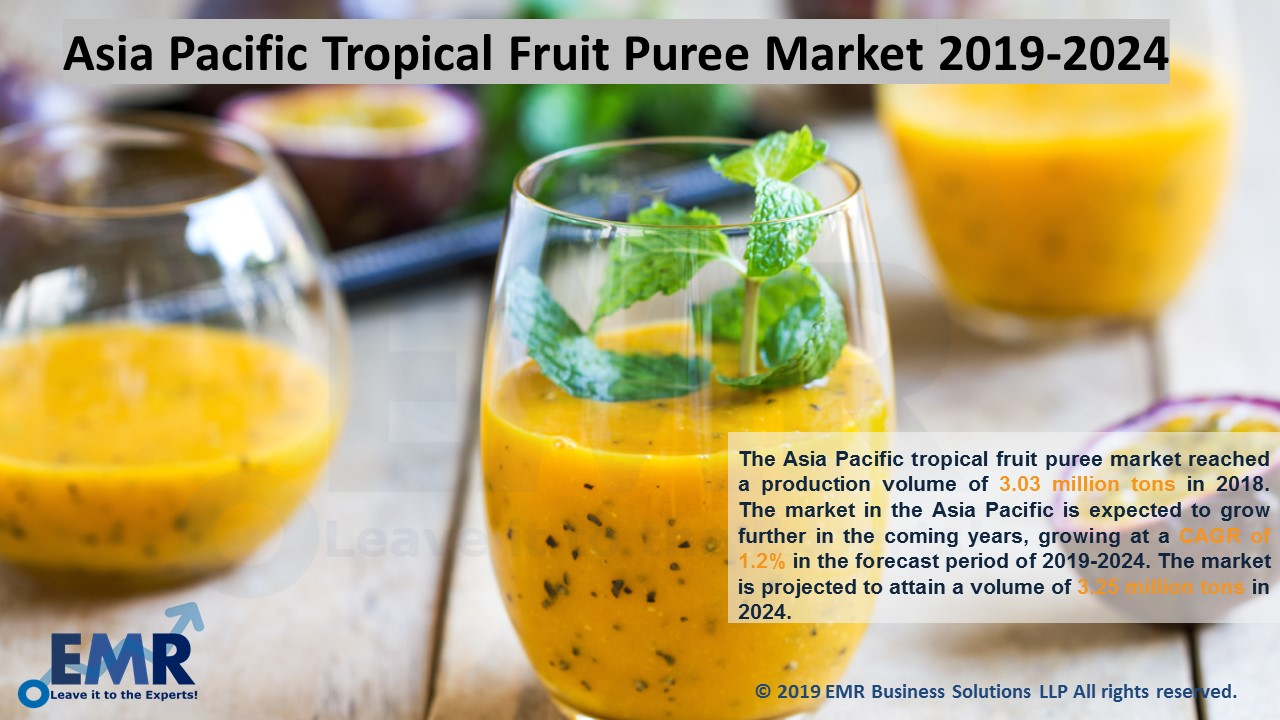 Asia Pacific Tropical Fruit Puree Market Report and Forecast 2019-2024