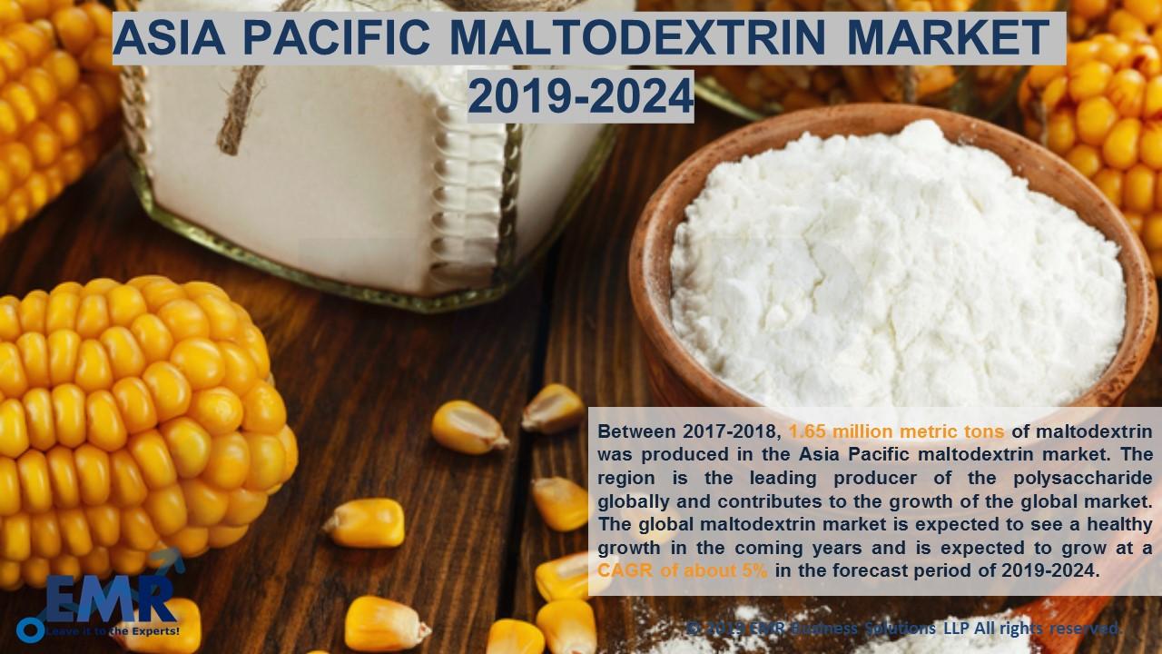 Asia Pcific Maltodextrin Market Report and Forecast 2019-2024