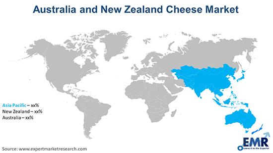 Australia and New Zealand Cheese Market by Region