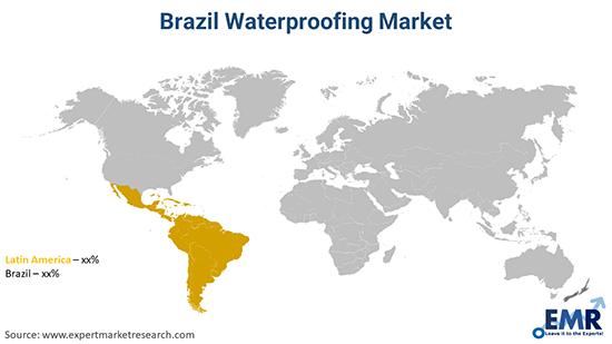 Brazil Waterproofing Market By Region