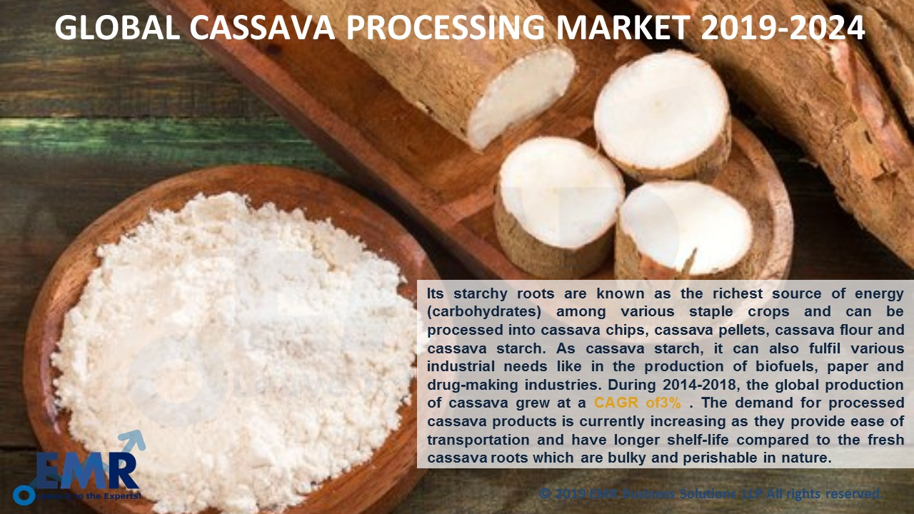 Cassava Processing Market Report and Forecast 2019-2024