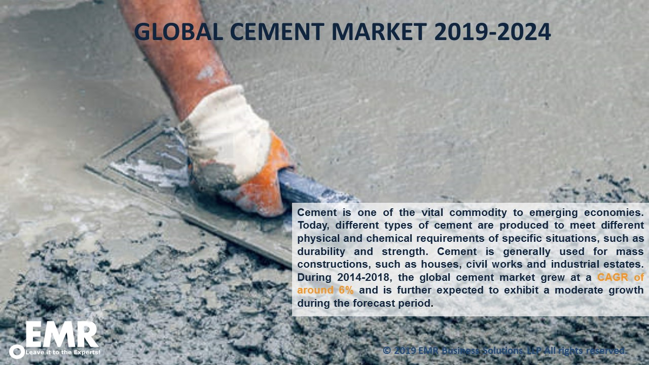 Global Cement Market Report and Forecast 2019-2024