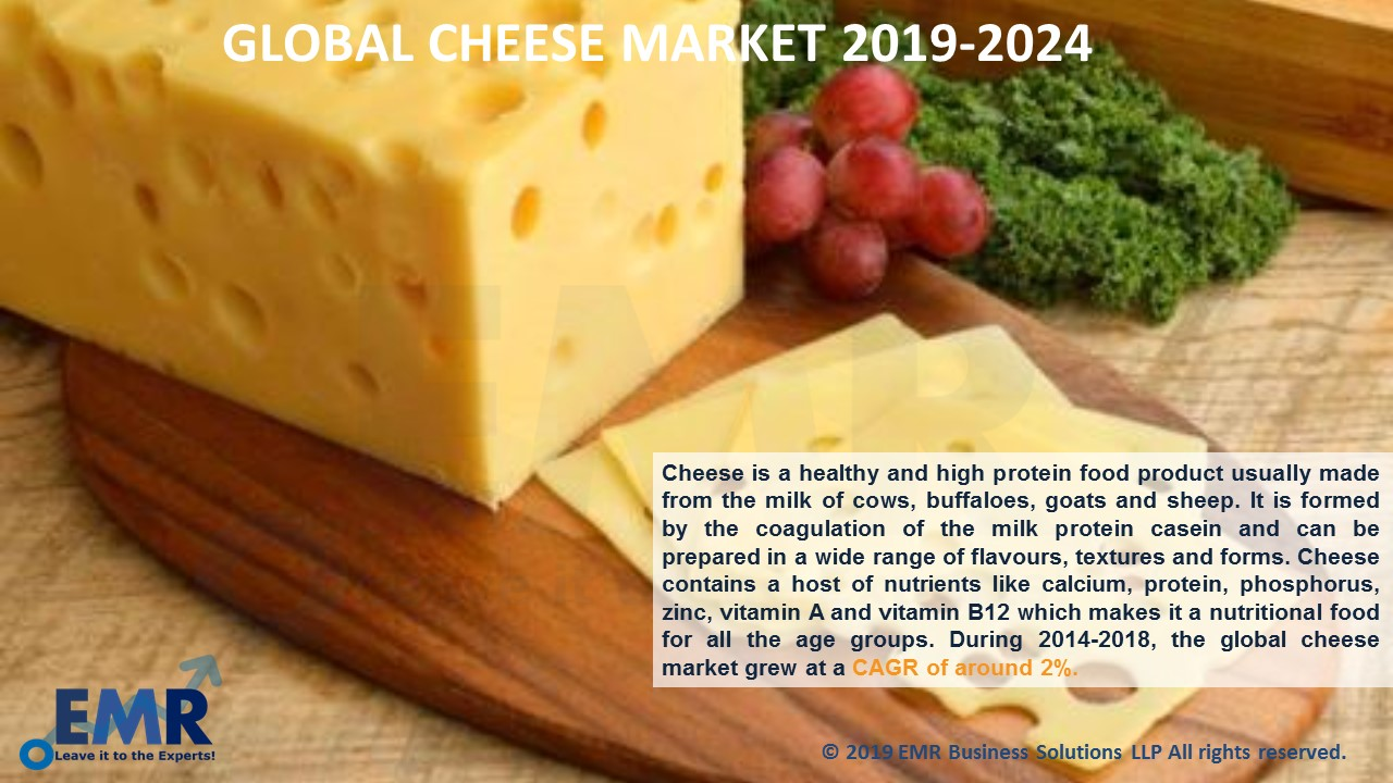Cheese Market Report and Forecast 2019-2024