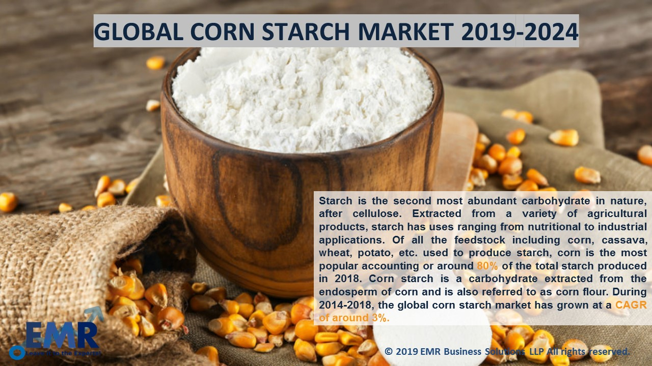 Corn Starch Market Report and Forecast 2019-2024