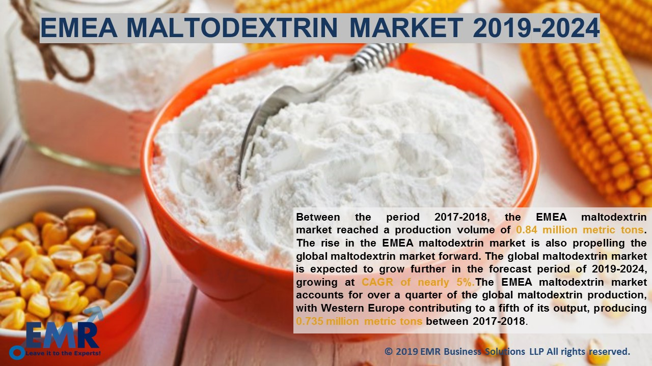 EMEA Maltodextrin Market Report and Forecast 2019-2024