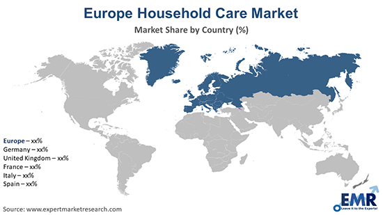 Europe Household Care Market By Region