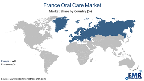 France Oral Care Market By Region