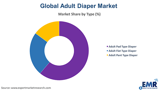 Adult Diaper Market by Type