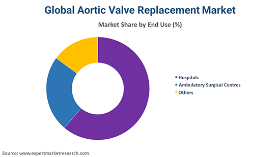 Global Aortic Valve Replacement Market By End Use