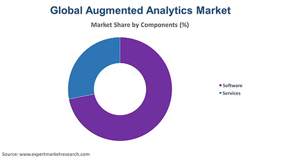 Global Augmented Analytics Market  by Component