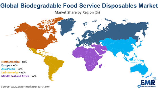 Biodegradable Food Service Disposables Market by Region
