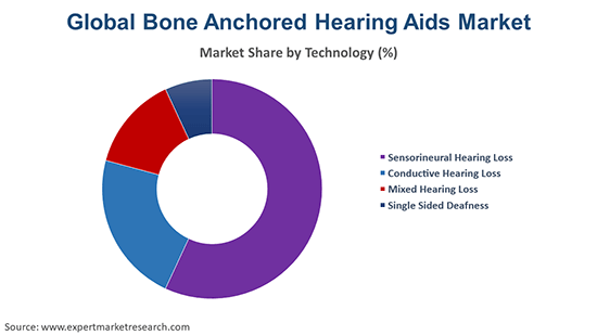Global Bone Anchored Hearing Aids Market By Technology