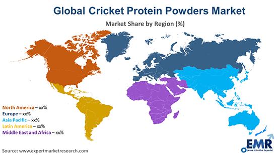 Global Cricket Protein Powders Market By Region