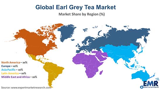 Global Earl Grey Tea Market By Region
